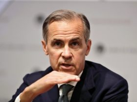 The head of the British Central Bank (Bank of England)