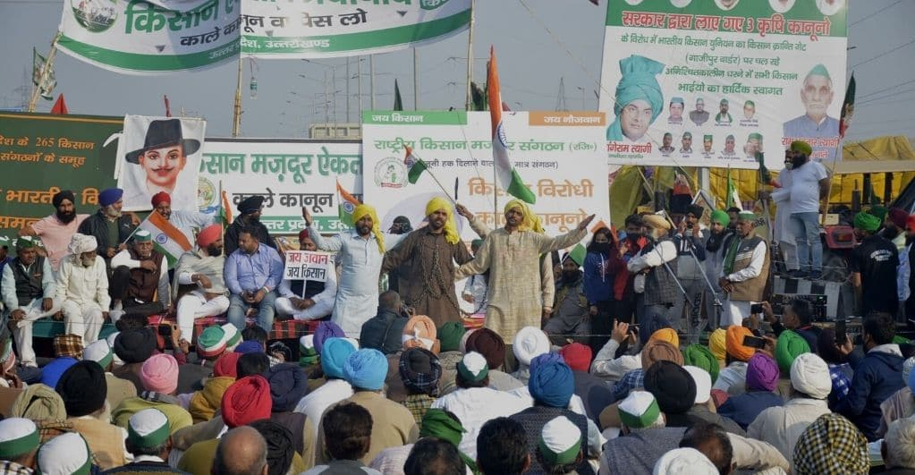 Indian Farmers' Protest can Hurt the Country's Economy